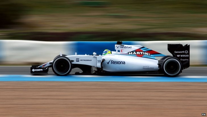 Williams's Felipe Massa
