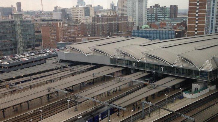 Leeds railway station