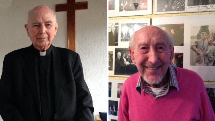Edward Daly and James Mehaffey
