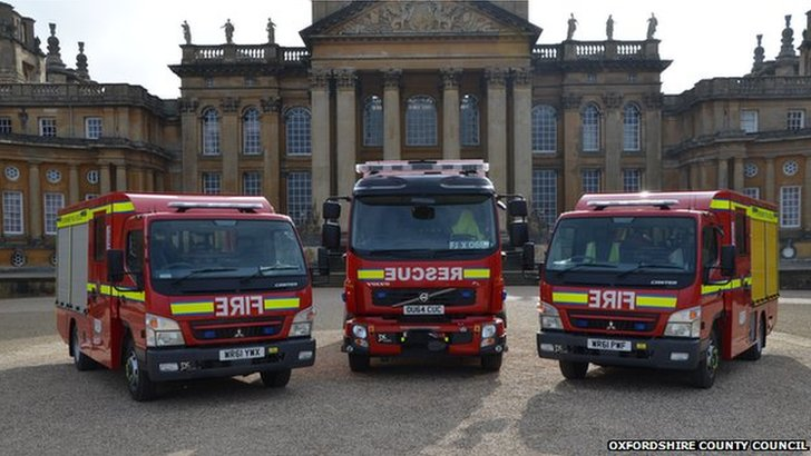 Oxfordshire fire engines