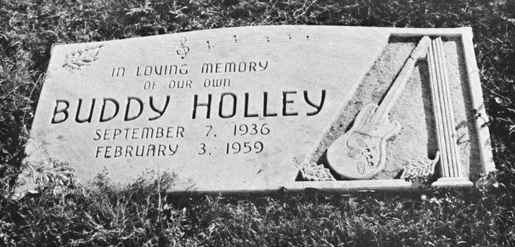 Buddy Holly gravestone