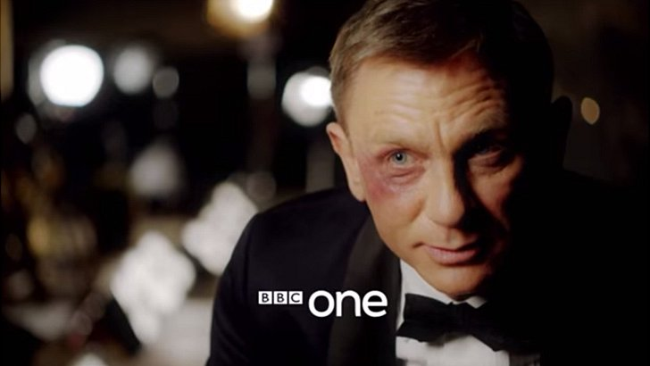 Daniel Craig in the Red Nose Day trailer