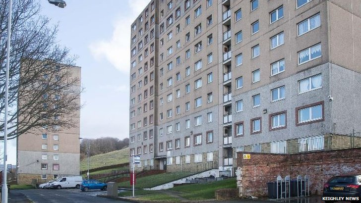 Parkwood Rise flats, Keighley