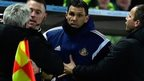 Steve Bruce and Gus Poyet scuffle