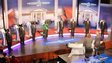 The eight candidates line up in Kenya's presidential election debates in 2013