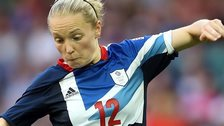 Kim Little was one of two Scots in the GB women's squad