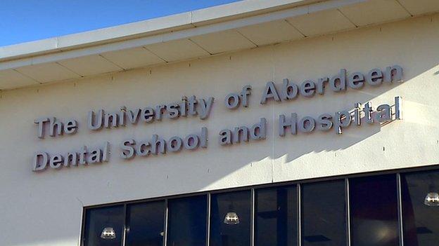 Aberdeen dental school