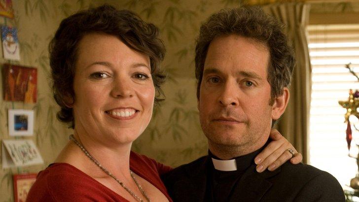 Olivia Colman and Tom Hollander in Rev