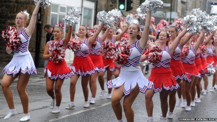 Otley carnival procession