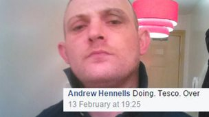 Andrew Hennells posted on Facebook