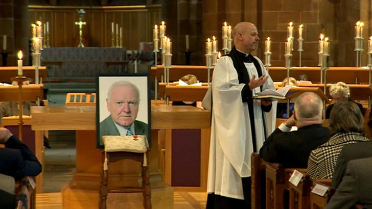Memorial service for Philip Bradbourn