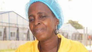 Beatrice Yardolo, an Ebola survivor
