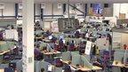 Inside call centre