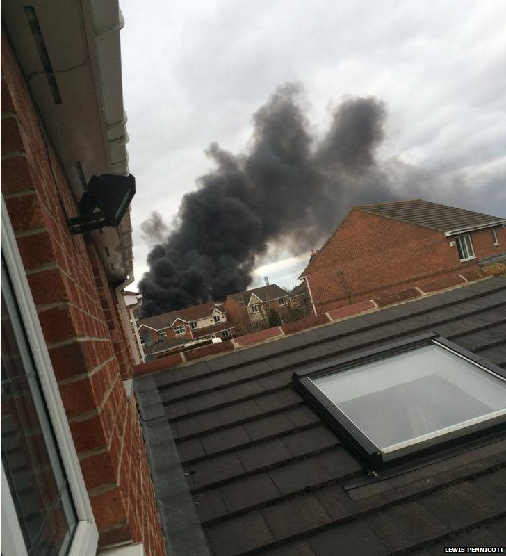 Fire in eaglescliffe