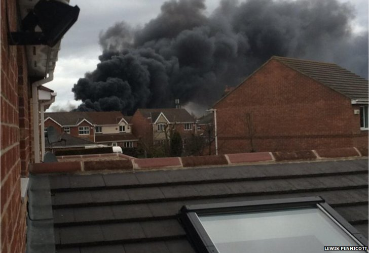 Eaglescliffe fire