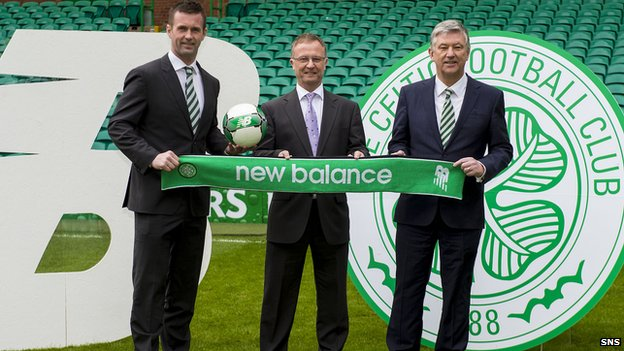 Celtic's kit deal