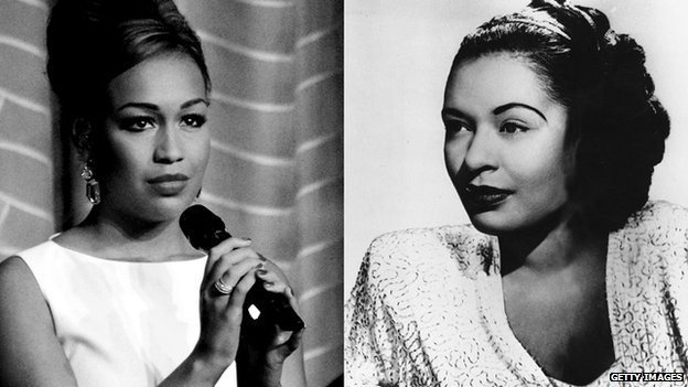 Rebecca Ferguson and Billie Holliday