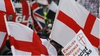 EDL march in Leicester