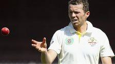 Australia bowler Peter Siddle
