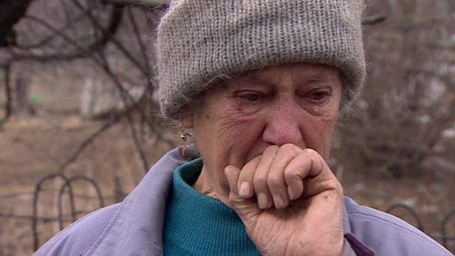 VIDEO: Elderly, widowed, her home destroyed...