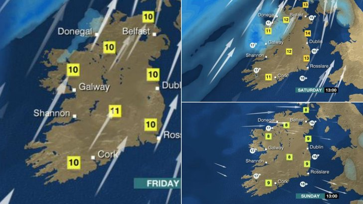 Weekend weather 6 March 2015
