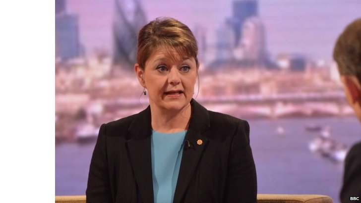 Plaid Cymru leader Leanne Wood AM