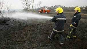 Dorset firefighters