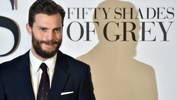 Jamie Dornan plays Christian Grey in Fifty Shades of Grey