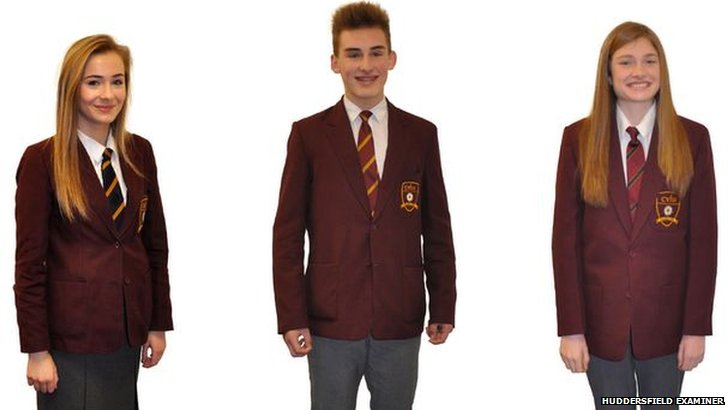 Colne Valley High School new uniform