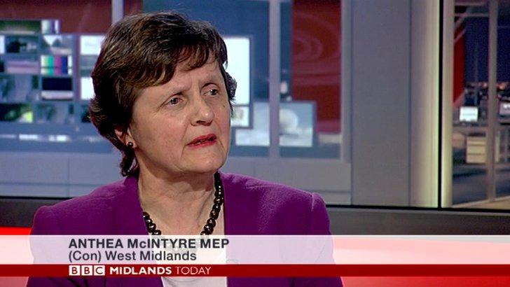 MEP Anthea Mcintyre