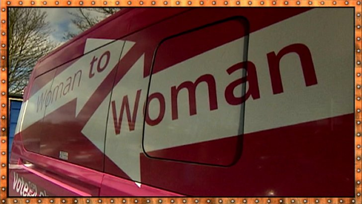 Woman to woman - Labour's battle bus