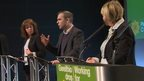 Plaid Cymru conference speakers