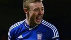 Ipswich Town striker Freddie Sears