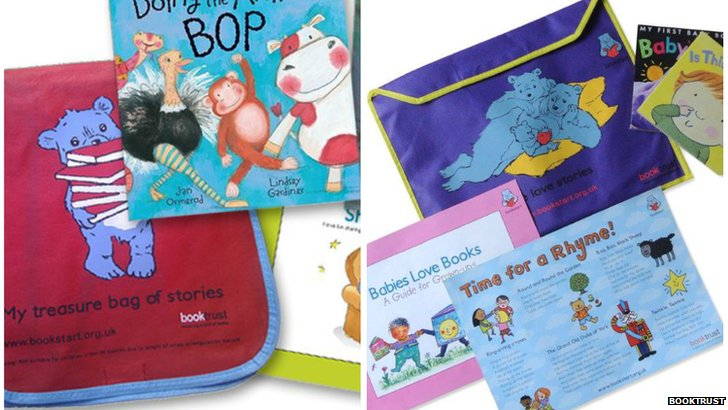 Booktrust packs