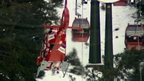 Helicopter comes to rescue skiers