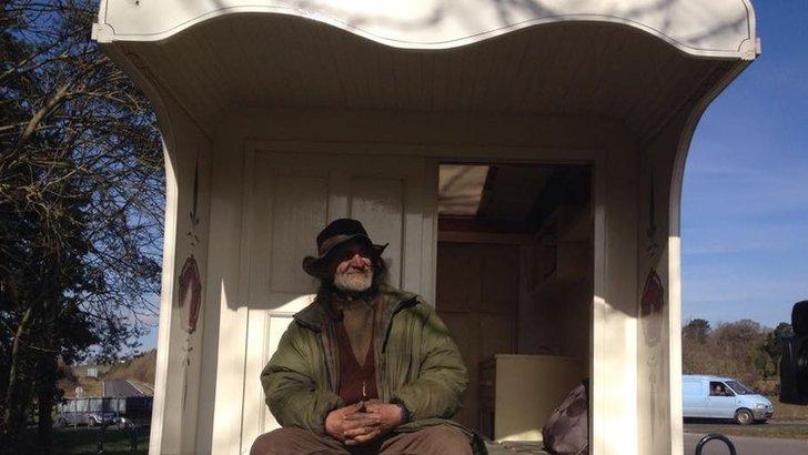 Devon traveller John Treagood