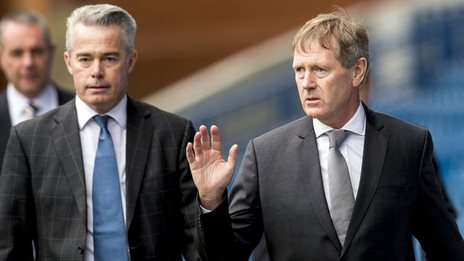 Paul Murray and Dave King ousted Rangers' board
