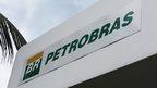 A Petrobras sign in Brazil