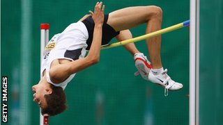 high jump requires great flexibility