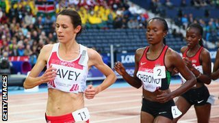 Jo Pavey shows age is no barrier