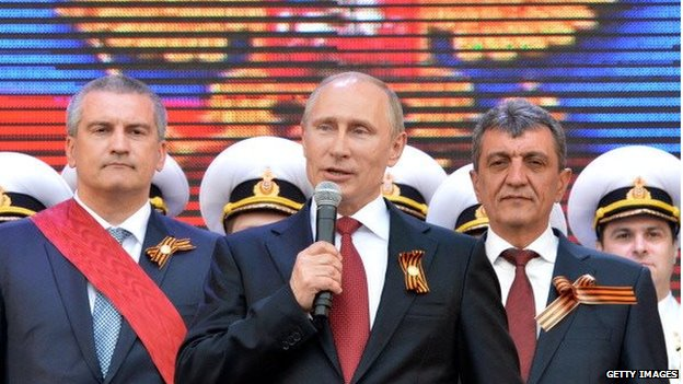 Putin reveals Russia secret Crimea takeover in documentary