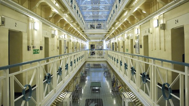 Inside of HMP Preston