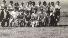 St Colmcille's Gaelic football team captured in 1970-71