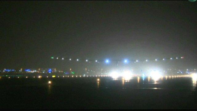 Solar Impulse-2 lands in Oman