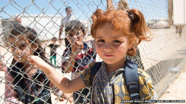 """The """"Rainbow Kindergarten"""", the first pre-school in Zaatari refugee camp in Jordan"""