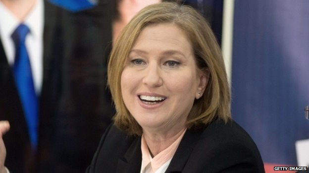 Israeli MP Tzipi Livni