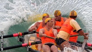surf rowing