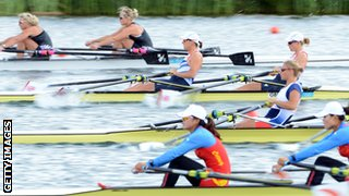 competitive rowing