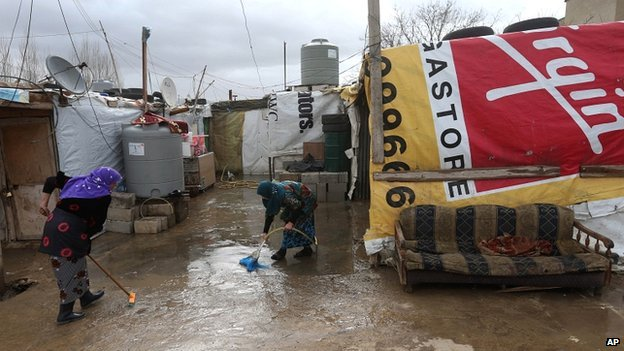 refugee camp, Marej in the Bekaa valley, east Lebanon