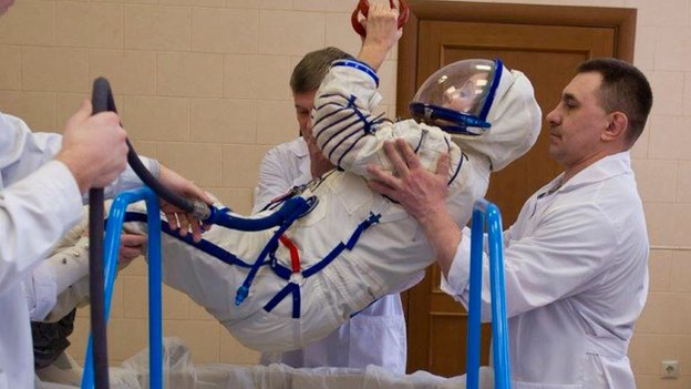 Brightman has been at Russia's Star City cosmonaut training school since January
